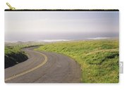 Road Along The Coast, Point Reyes Carry-all Pouch