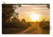 Road In Botswana Carry-all Pouch