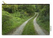 Road In Woods 1 D Carry-all Pouch