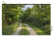 Road In Woods 1 F Carry-all Pouch
