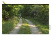 Road In Woods 1 H Windy Carry-all Pouch