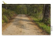 Road In Woods Autumn 2 A Carry-all Pouch