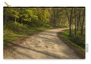 Road In Woods Autumn 3 A Carry-all Pouch