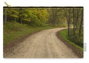 Road In Woods Autumn 3 B Carry-all Pouch