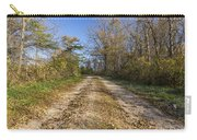 Road In Woods Autumn 4 A Carry-all Pouch