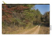 Road In Woods Autumn 5 Carry-all Pouch
