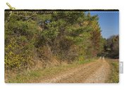 Road In Woods Autumn 6 Carry-all Pouch