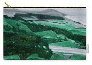 Road Leading To Hearst Castle Carry-all Pouch