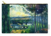 Road Leading To The Lake, By Paul Cezanne, Circa 1880, Kroller-m Carry-all Pouch