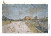 Road Running Beside The Paris Ramparts Paris, June - September 1887 Vincent Van Gogh 1853  1890 Carry-all Pouch