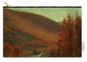 Road Through Belvedere Carry-all Pouch by Thomas Worthington