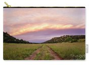 Road Through New Mexico Landscape At Sunrise Carry-all Pouch