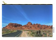 Road Through Valley Of Fire  Carry-all Pouch
