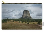 Road To Devils Tower Panorama Carry-all Pouch