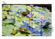 Road To Hana Water Lilies Carry-all Pouch