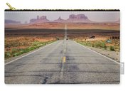 Road To Monument Valley Carry-all Pouch