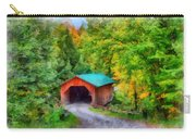 Road To The Covered Bridge Carry-all Pouch
