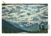 Road Travel Alaska Color  Carry-all Pouch