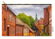 Roads Of Lund Digital Painting Carry-all Pouch