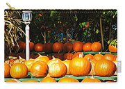 Roadside Pumpkin Stand Expressionist Effect Carry-all Pouch