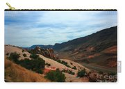 Roadway Rock Formations Arches National Park Carry-all Pouch