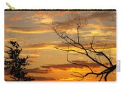 Roanoke Lake Sunrise Carry-all Pouch
