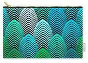 Roaring 20's Turquoise Carry-all Pouch