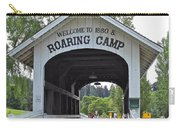 Roaring Camp Covered Bridge Carry-all Pouch