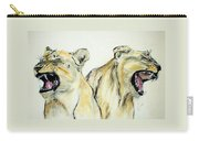 Roaring Times Carry-all Pouch