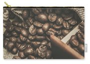 Roasted Coffee Beans In Close-up  Carry-all Pouch
