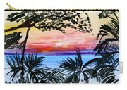 Roatan Sunset Carry-all Pouch