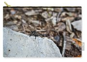 Robber Fly Sitting Carry-all Pouch