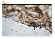 Robber Fly Stalking Carry-all Pouch