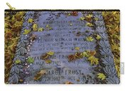 Robert Frosts Grave Carry-all Pouch
