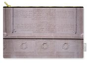 7- Robert Gould Shaw Monument - Back Side Eckfoto Boston Freedom Trail Carry-all Pouch