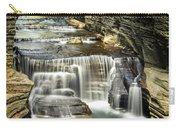 Robert H. Treman State Park Gorge Upper Falls Carry-all Pouch