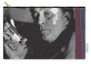 Robert Mitchum As Phillip Marlowe Neo Film Noir  The Big Sleep  1978. Carry-all Pouch