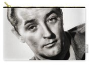 Robert Mitchum, Vintage Actor Carry-all Pouch