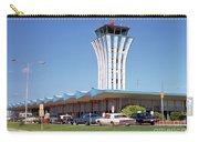 Robert Mueller Municipal Airport And Control Tower, Austin, Texas Carry-all Pouch