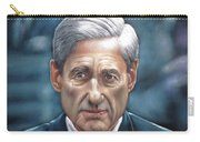 Robert Mueller Portrait , Head Of The Special Counsel Investigation Carry-all Pouch