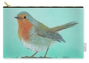 Robin Bird Painting Carry-all Pouch