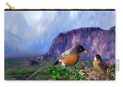 Robin Feeding Baby Robin Carry-all Pouch