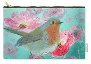 Robin In A Field Of Poppies Carry-all Pouch