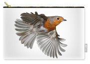 Robin In Flight Carry-all Pouch