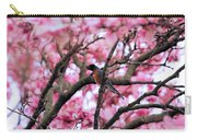 Robin In Magnolia Tree Carry-all Pouch