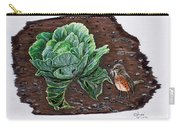 Robin In The Gardin Carry-all Pouch