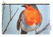 Robin In The Tree Carry-all Pouch