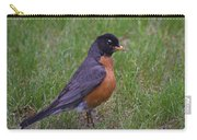 Robin On The Lawn Carry-all Pouch