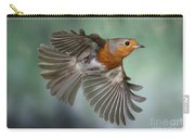 Robin On The Wing Carry-all Pouch