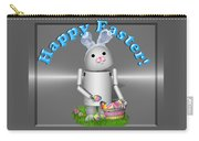 Robo-x9 The Easter Bunny Carry-all Pouch